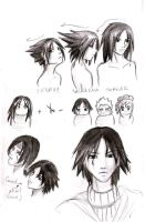 Sasuke Hair by anjeirz