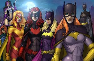Batgirls by JamieFayX