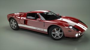 Ford GT Side by Hiddenus