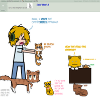Stephano as cat X3 by Ask-the-BroArmy