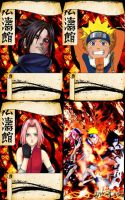 Naruto Cards by Duero