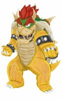 King Bowser Koopa ~ Enduring and Persistent by StarWolf597