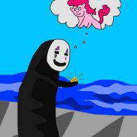 No Face from Spirited Away by pewdie-pinkiepie