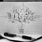 VANISH   Pencil on paper   2015 by Syco03