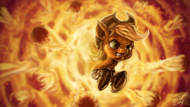 Appleplosion by AssasinMonkey