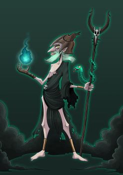 CHARACTER DESIGN CHALLENGE :: Hades by Clampy-TFA