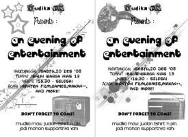 An Evening of Entertainment by GraPHriX