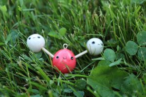 Polymer Clay Charm: Water by pluto-soup