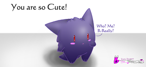 Chibi Gengar -request by Filly-Milly