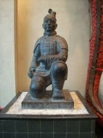 Chinese Warrior Statue by superlibbie