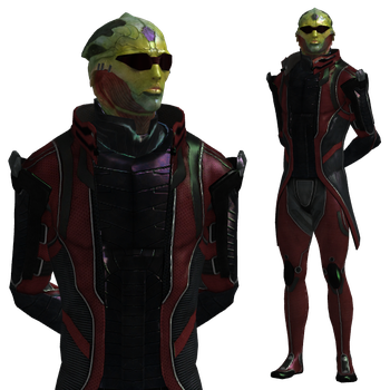 ME2 Thane Krios Alt. Appearance for XPS by Just-Jasper