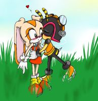Cream Charmy again .:Fanart:. by XxFreaksofmangaxX
