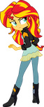 Sunset Shimmer - Equestria Girls FSG by ZeldaronDL