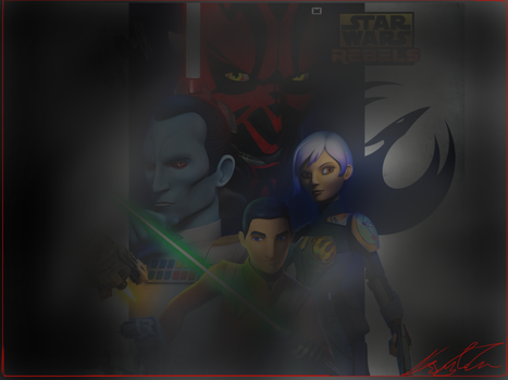 Our Shadows...are near Thrawn (Star Wars Rebels) by KaylaDeviant16