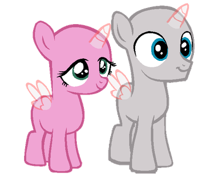 A Colt and a Filly by SapphireArtemis