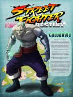 STREET FIGHTER DESTINY: GOLUBOVIC by byrdylicious