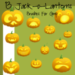 13 Color Jack-o-Lanterns by madaline-7