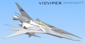 vicViper CAD screen 8 by 4-X-S