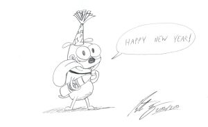 Happy New Year 2013 by MortenEng21