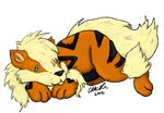 Chibi Arcanine by ChibiiCherry