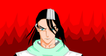 MS Paint: Kuchiki Byakuya. by DrawerZZ