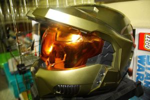 HALO HELMET 2 by djqcookie