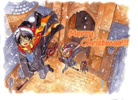 Merry Christmas HP card by lince