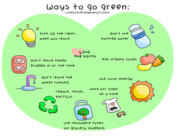Ways to go Green by CreamTroll