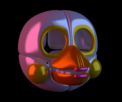 Funtime Chica WIP by Zylae