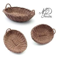 Oval Basket - NJD Miniatures by NJD-Miniatures