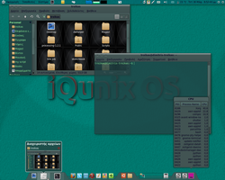 My IQunix OS 3 by troikas