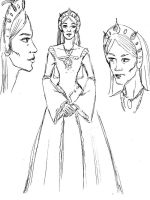 The Queen Mother - Character Sheet by amberchrome