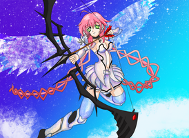 Ikaros Heaven's Lost Property Fan art by Silent1fd