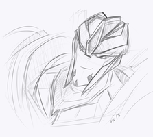 Smokescreen Doodle by Arsevere