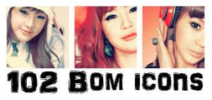 102 Bom Icons by ohmyjongwoon