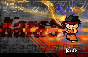 Placemat Design for Karate Kid by lancerdrake