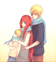 Namikaze Family by kanaru