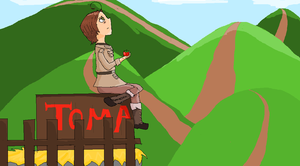 romano and spains tomato road trip! by theAWSOMEpeace