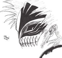 Ichigo in Hollow mask by Demons-of-Razgriz16