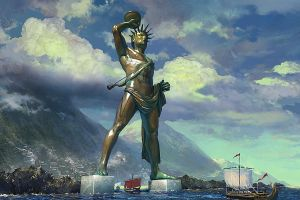 Colossus of Rhodes by Pervandr