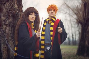 Expelliarmus. HP cosplay. by Giuzzys
