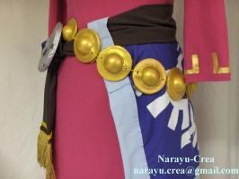 Zelda from Skyloft full costume details by Narayu