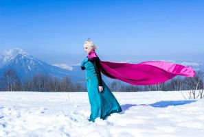 Queen Elsa - Frozen by FrancescaMisa