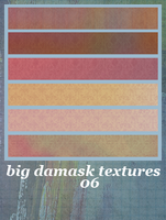 6 Big Damask Textures by Bourniio