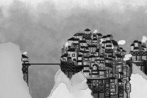 Factorial Town by Eroha