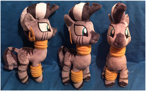 Zecora Plush by Sophillia
