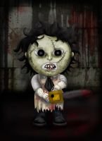 Leatherface by Lauramei