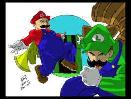 these brothers are super by larthosgrr8