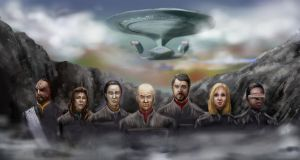 star trek tng WIP by amie689