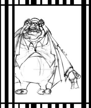 Vogon from Hitchhiker's Guide to the Galaxy by velvet-child